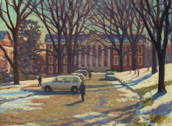 """Winter Afternoon"" <br /> UVA <br /> 18x24"" oil --available-- #809"